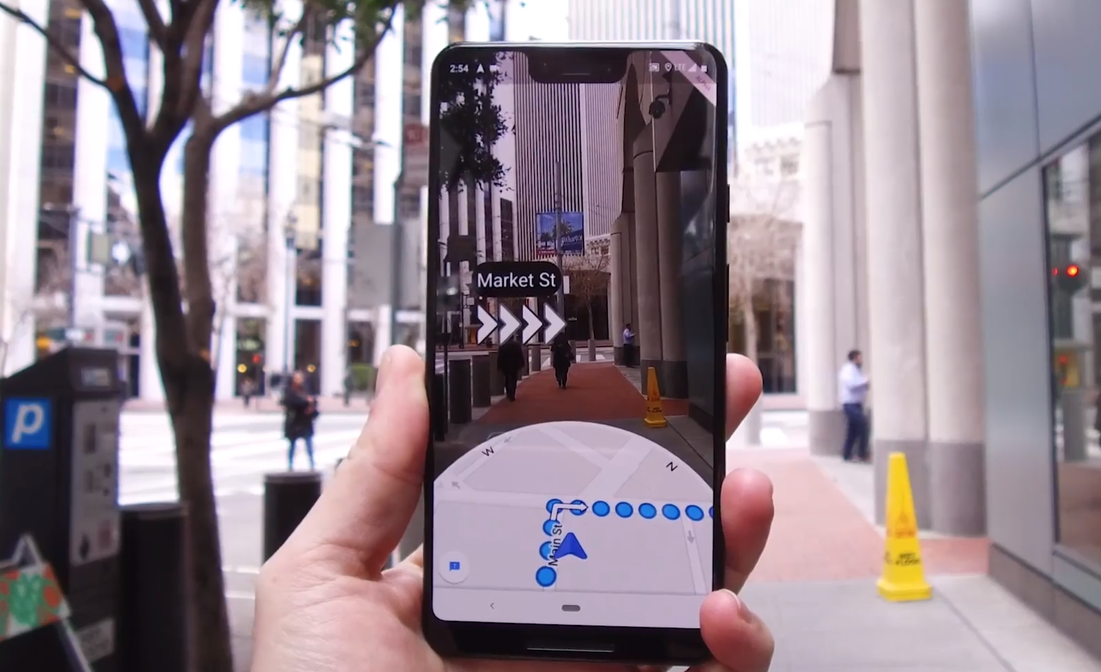 Google Maps Beta Testing Augmented Reality Navigation