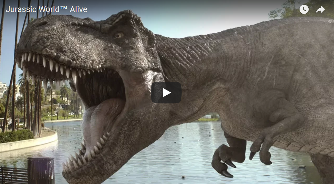 Jurassic World Alive – Augmented Reality App