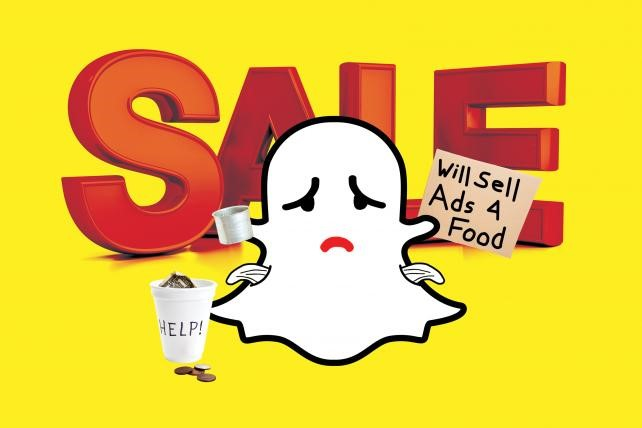 Snapchat Ad Prices Drop from Colossal to Cheap