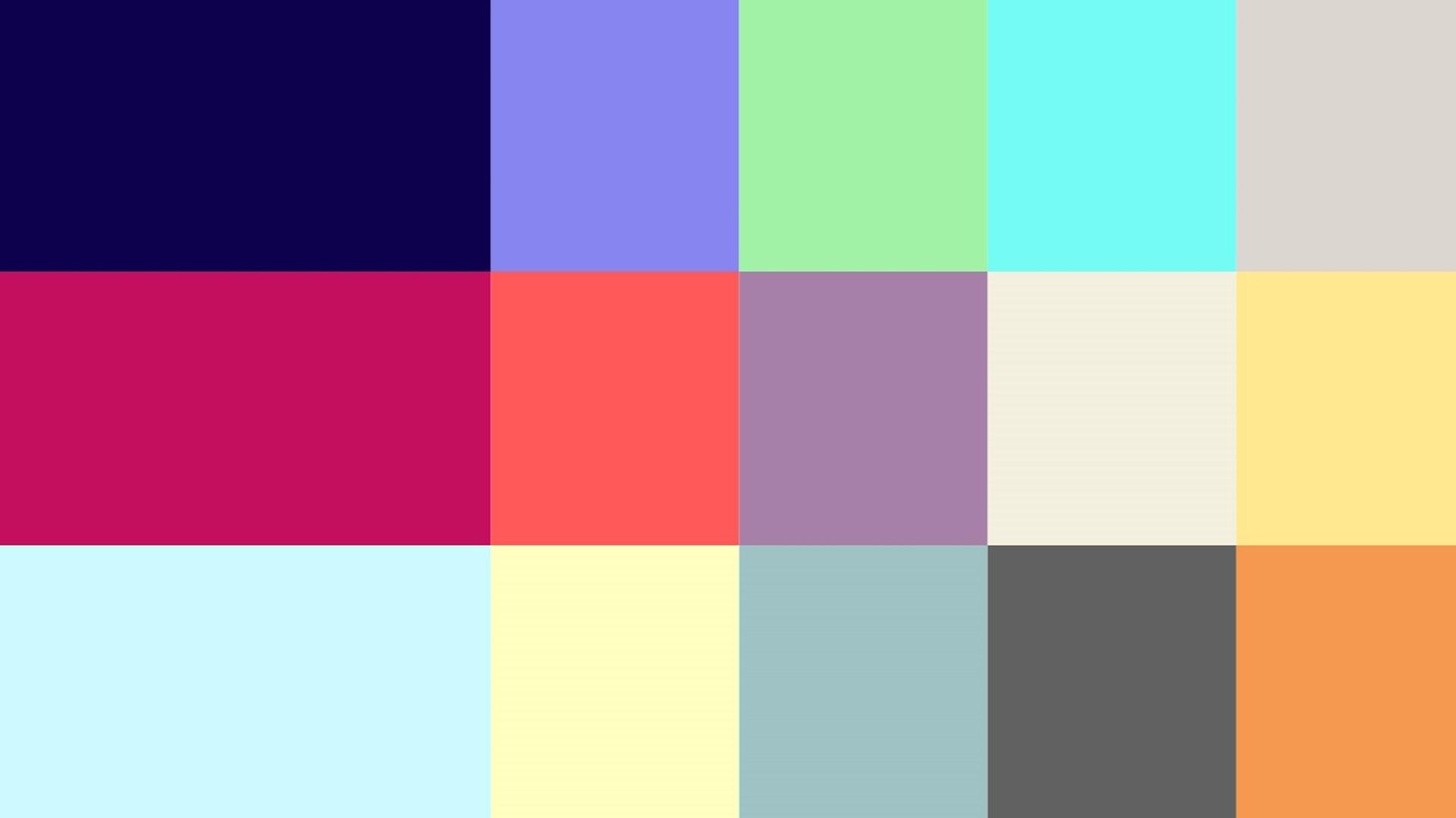 Edge summer 2020 - branding - colour palette