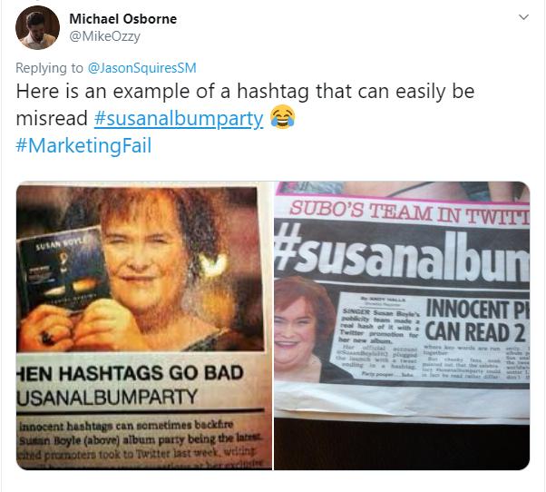 Susan Boyle Hashtag
