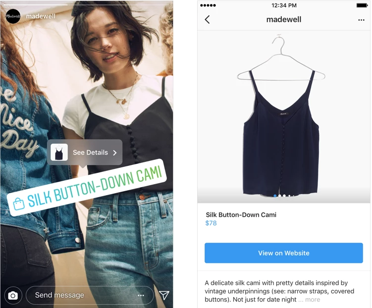Instagram Shopping Expanding to Stories and Explore Page