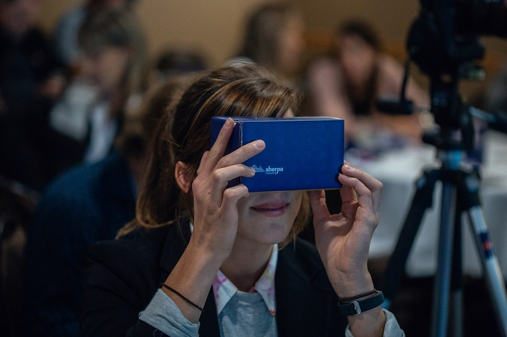 Sherpa Marketing Event Winnipeg - Virtual Reality