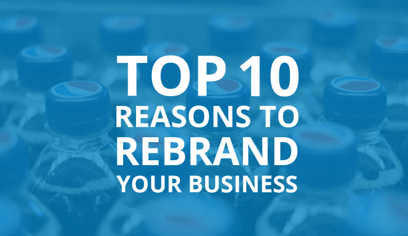 Reasons to Rebrand Your Business Infographic